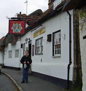 Outside the Eight Bells, Long Crendon
