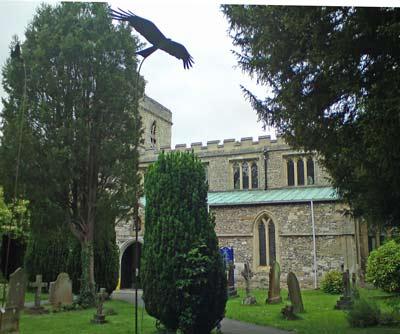 Sculptured Kite, Monks Risborough