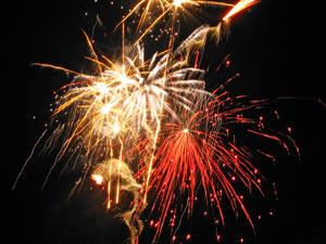 November Fireworks at the Village Pub