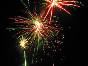 More Village Pub Fireworks