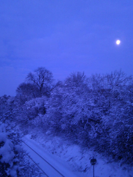 Chiltern Snowy Nightscape
