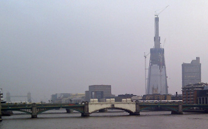 The Shard Rising -- 18th February 2011