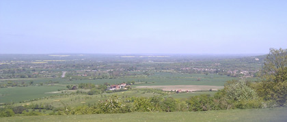 View from Coombe Hill to the North