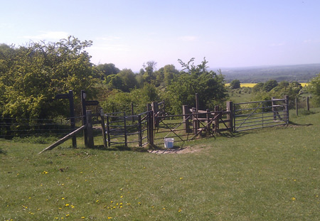 Stile Above Happy Valley
