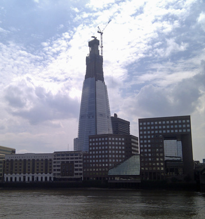 The Shard From The North Side of London Bridge