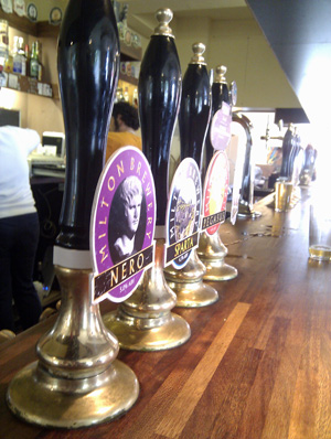 Pembury Tavern Handpumps