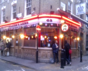 Bricklayer's Arms Shoreditch