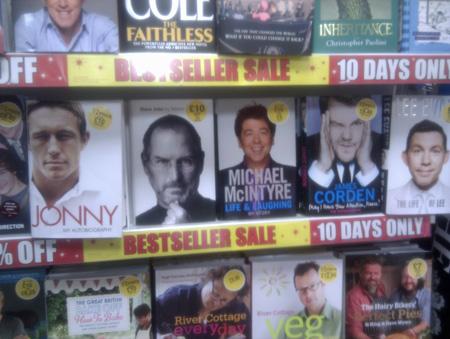 Christmas Bestsellers 2011