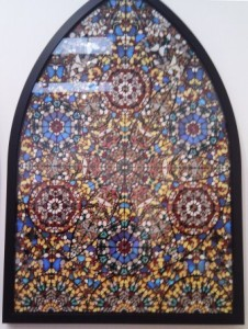 A Damien Hirst Butterly Picture