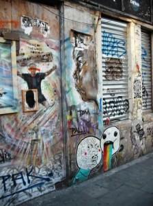 Shoreditch Graffiti -- Robbo 1
