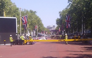 London 2012 Mall Finish