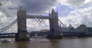 Tower Bridge Olympic Rings 110712