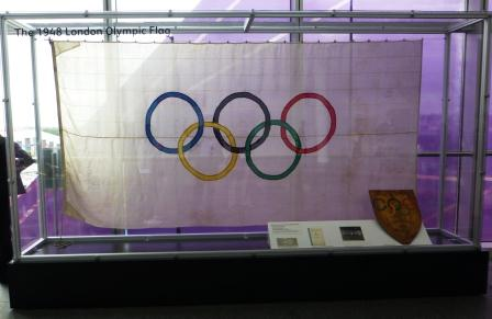 The Olympic Flag from the 1948 London Olympics