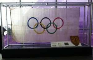 The Flag from the 1948 Olympics (and Possibly the 1936 Games) -- Wembley Stadium
