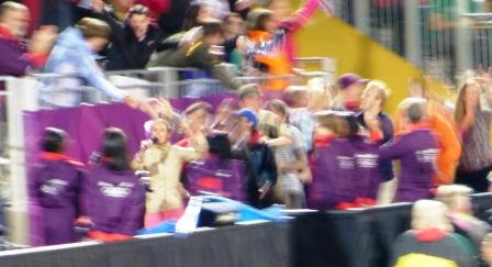 The Horse Guards Conga -- It Felt This Blurry Too