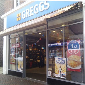 London 2012 Greggs Aylesbury
