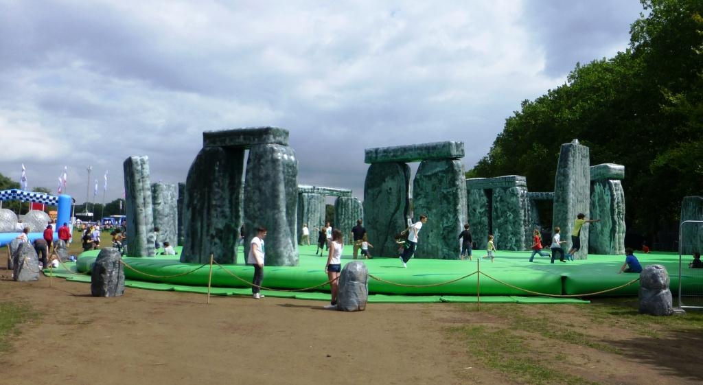 Jeremy Deller's 'Sacrilege' -- Victoria Park, Hackney