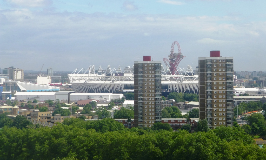 London 2012 -- Olympic Stadium from Victoria Park