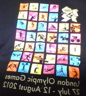 A Colour Themed Olympic Venue T-Shirt