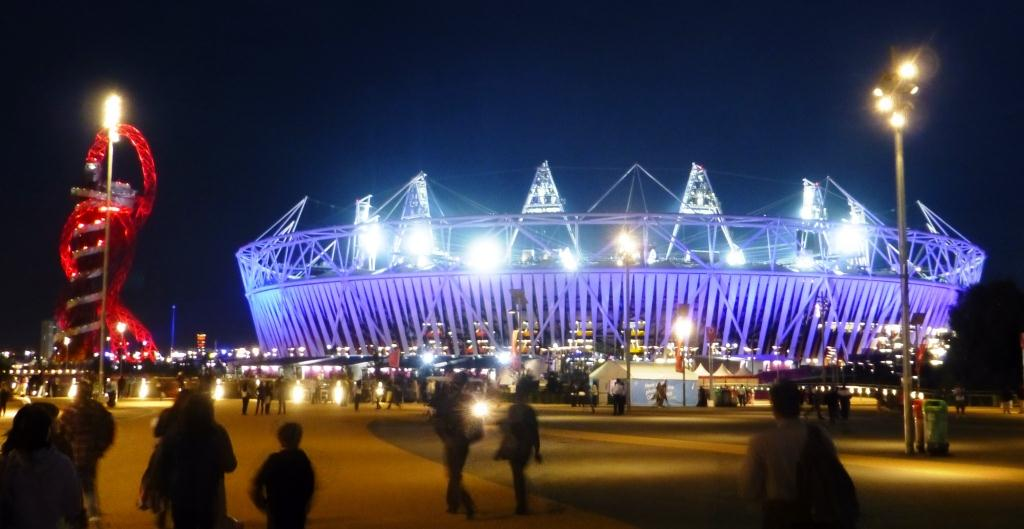 Olympic Stadium Blue 010912