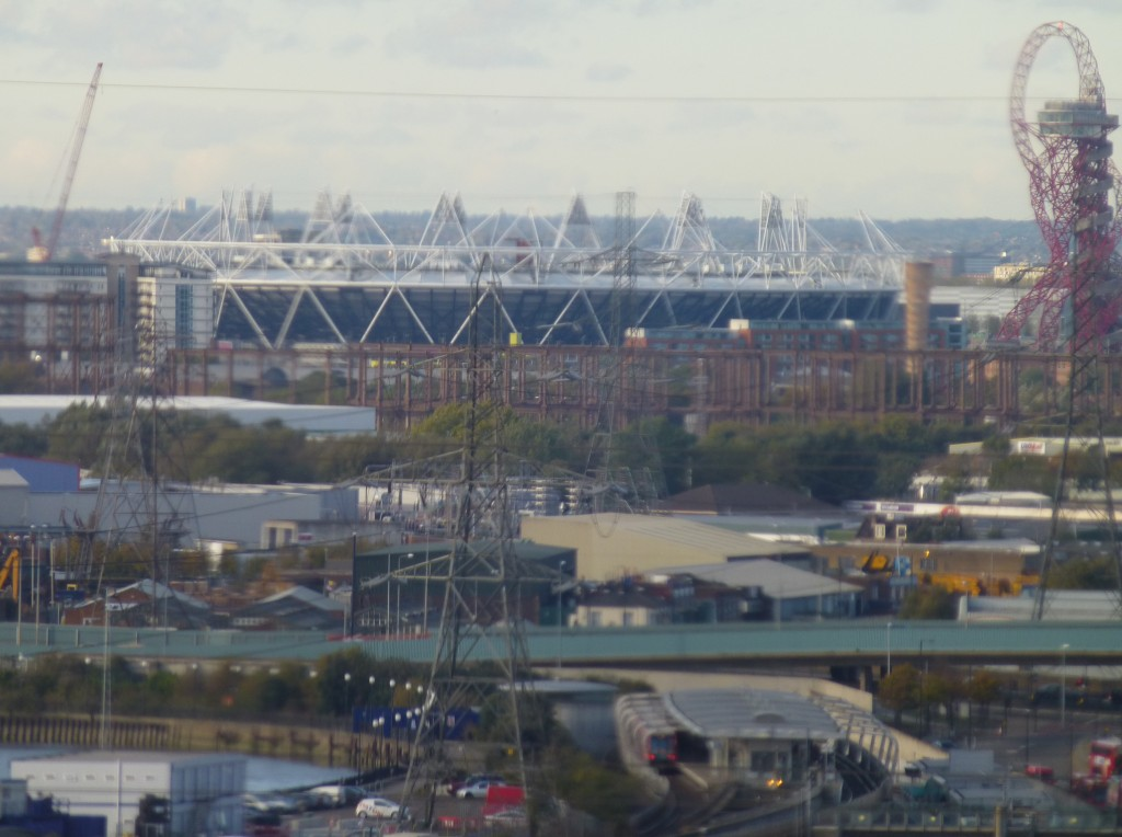 Olympic Stadium from Above the River