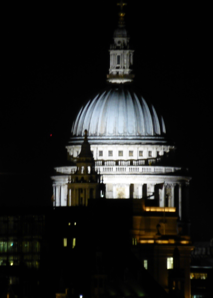 St. Paul's from the Golden Jubilee Bridge 14th December 2012