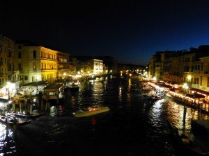 Venice: the Grand Canal from the Rialto