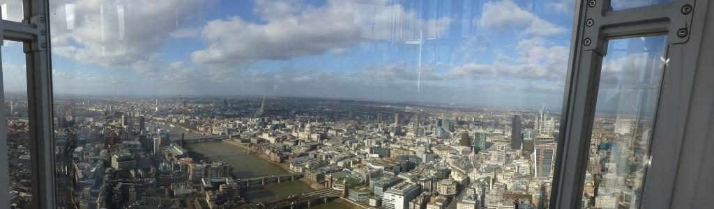 Panaroma from the Shard