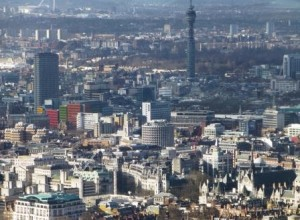 Covent Garden and West End from the Shard