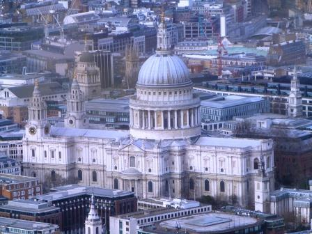 St. Paul's From the Shard