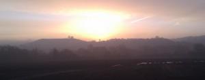 Sunrise Over Beacon Hill
