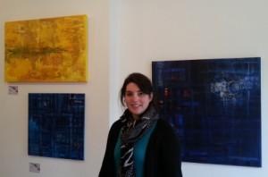 Alexis Cole in Brick Lane Gallery Annexe
