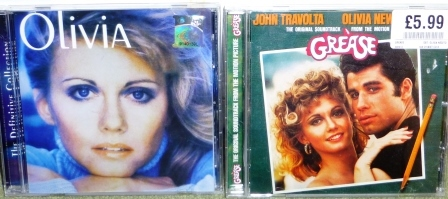 My Cheesy Olivia Newton John Collection