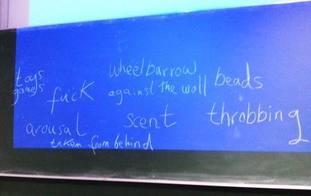 Anastasia Parks's Blackboard 140913