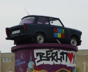 Trabants and Graffiti -- Very Achtung, Baby.