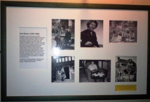 Framed Photos of Enid Blyton in the Red Lion, Knotty Green