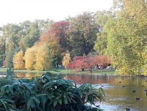 St. James's Park -- Where Parts of the Novel Were Written in the Summer