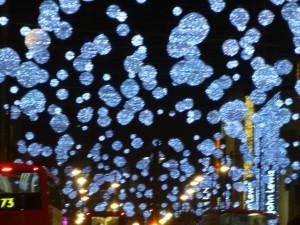 Oxford Street's 2013 Snow Globes