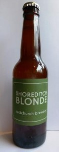 Redchurch Brewery Shoreditch Blonde