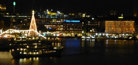 Stockholm Waterfront  in December