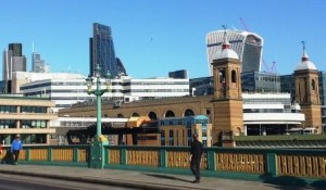 View From Southwark Bridge Late 2014