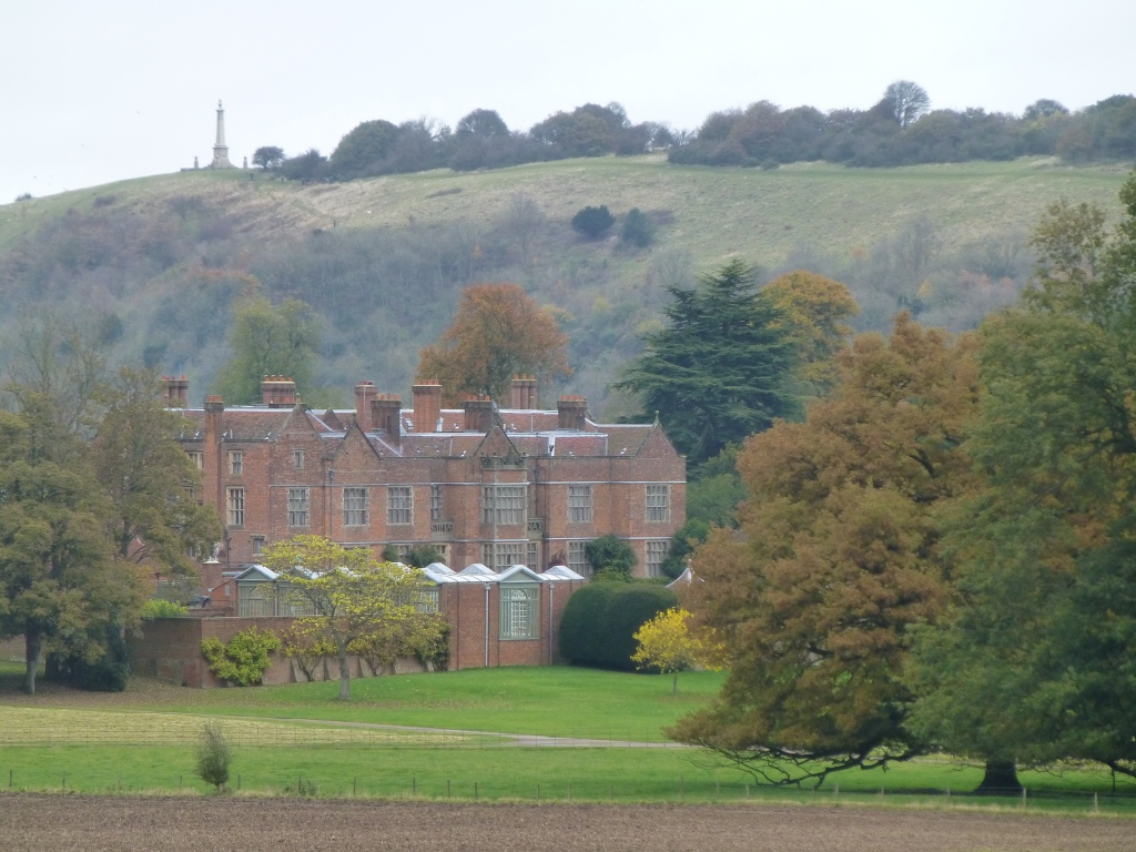 View of Chequers from Coombe Hill -- The Highest Point of the 6k Race