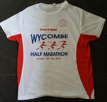 My Wycombe Half Marathon Finishers' Running Shirt 2015