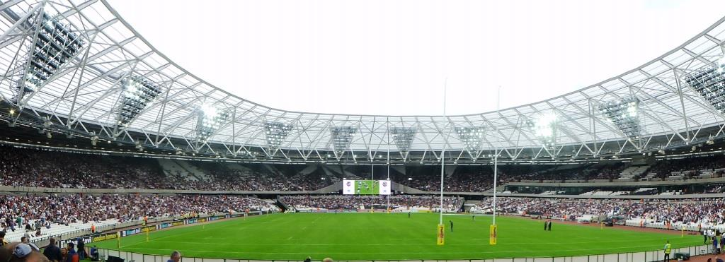 Olympic Stadium -- 29th August 2015
