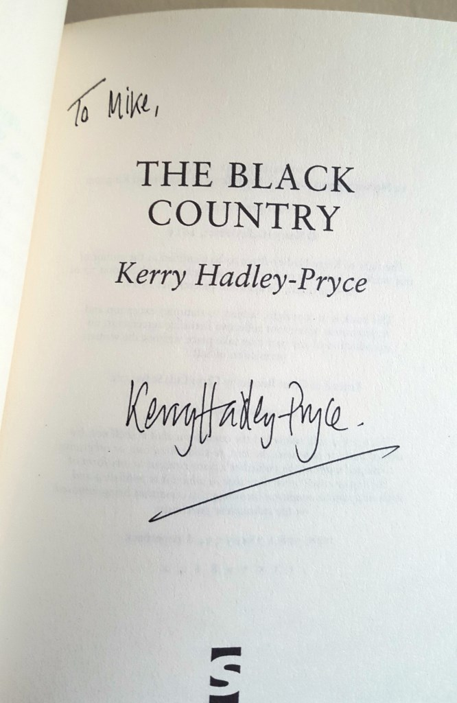 My Signed Copy of The Black Country