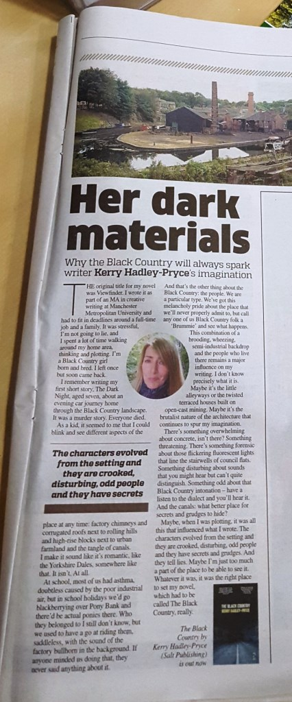 Article About the Black Country, Metro 28th September 2015