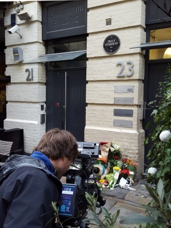 Where Ziggy Played Guitar, Heddon Street, 11th January 2016