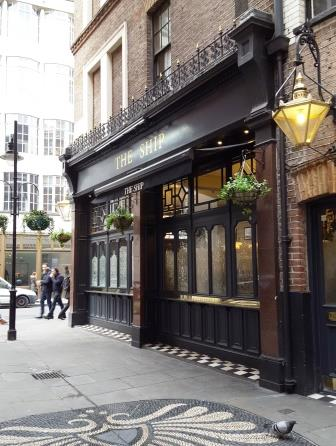 The Ship, Wardour Street, Soho