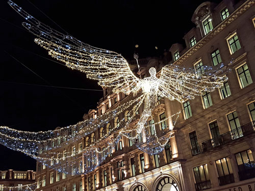 Regent Street Angel, Christmas 2016