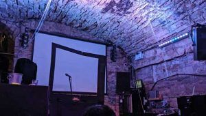James Meehan's Set at Cabaret Voltaire Prior to the Show
